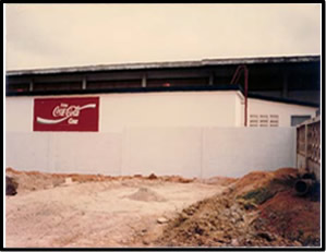 Concrete Water Tank Constructed at Coca Cola Bottling Company, Adjabeng - Accra