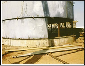 Base oil tanks - 2nd Stage of installation – Tema