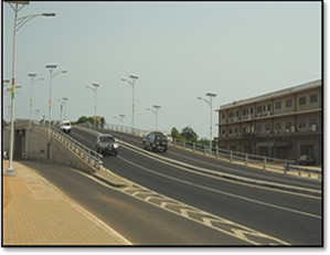 BRT Project, Overpass on Graphic Road