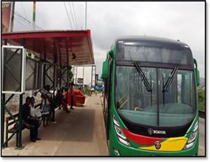 Type B Bus Priority Project, Amasaman-CMB Corridor