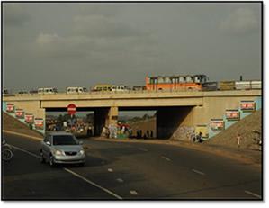 Achimota Interchange Bridge