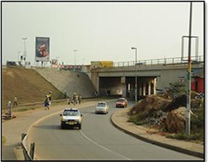 Alajo Bridge, Accra