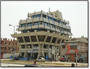 Provident Insurance Office, Accra